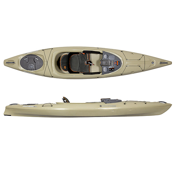 Wilderness Systems Pungo 120 Kayak, Fossil Tan, 600