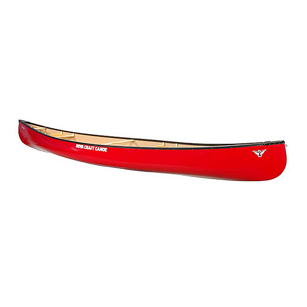 NOVA CRAFT Fox 14' Solo Canoe 2020, Tuffstuff-Aluminum-Red, 600