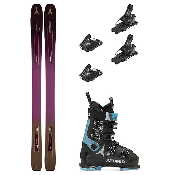 Atomic Vantage 97 C Hawx Prime 95 Womens Ski Package, , 600