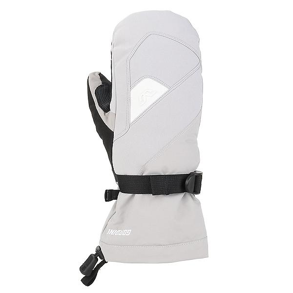 Gordini Aquabloc Gauntlet IV Womens Mittens, Clay Grey-White, 600