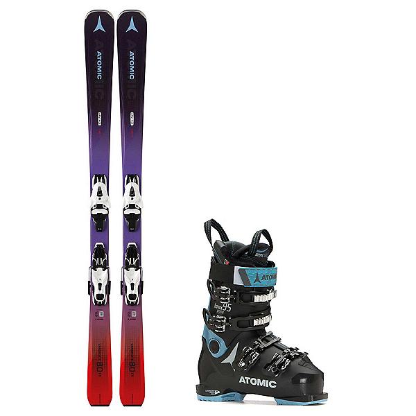 Atomic Vantage X 80 CTi Hawx Prime 95 Womens Ski Package, , 600