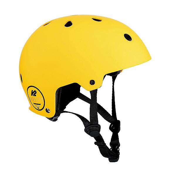 K2 Varsity Mens Skate Helmet 2019, Matte Yellow, 600