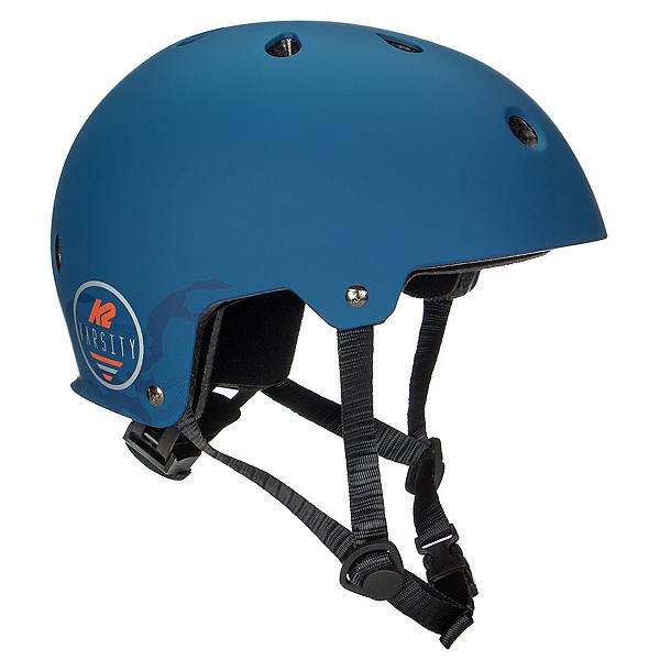 K2 Varsity Mens Skate Helmet, Matte Blue Camo, 600