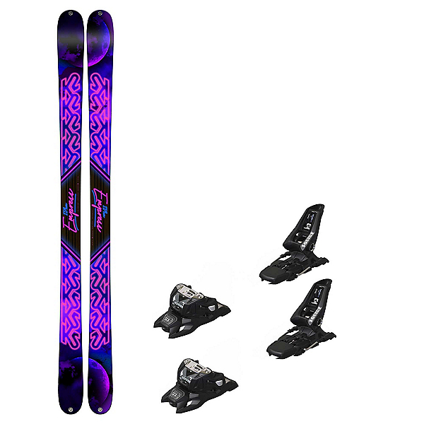 K2 Empress Squire 11 ID Womens Ski Package 2019, , 600