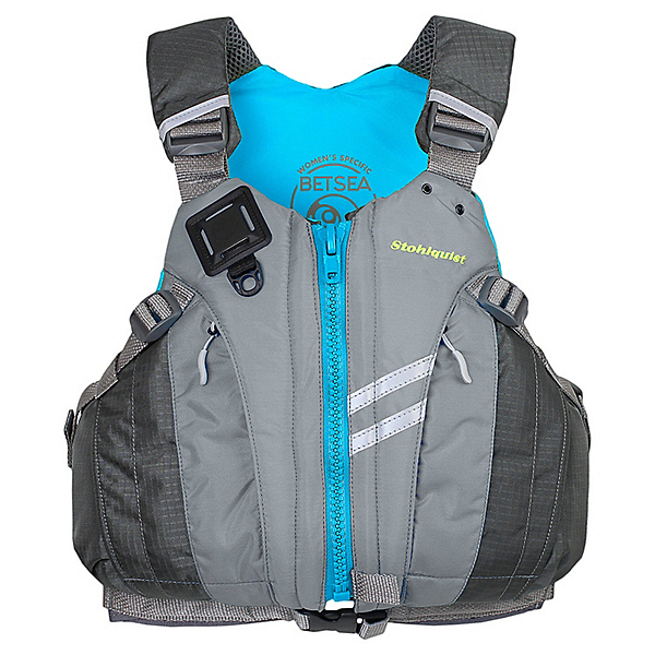 Stohlquist Betsea Womens Kayak Life Jacket 2020, Gray, 600