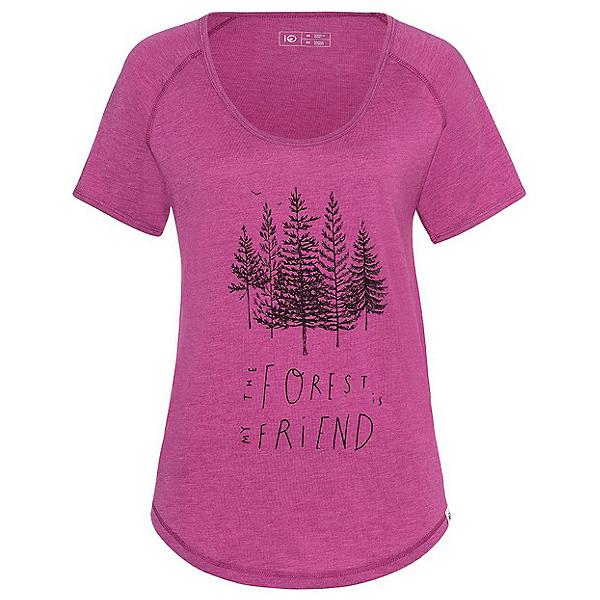 Tentree Forest Womens T-Shirt, Dahlia Mauve, 600