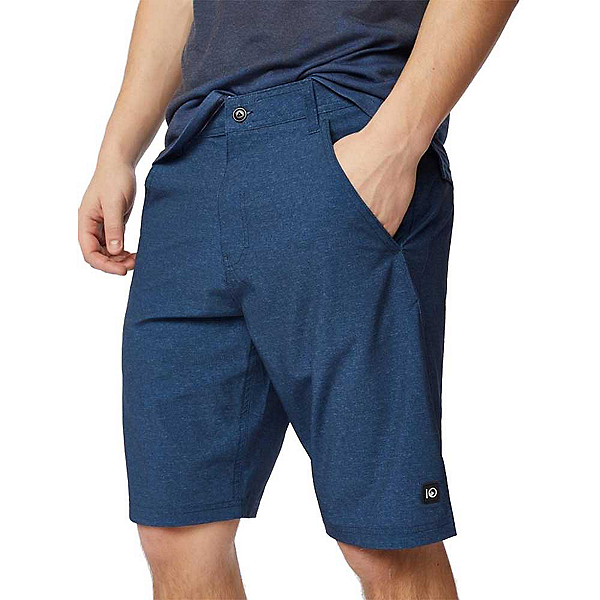Tentree Destination Mens Hybrid Shorts, Dark Denim Navy, 600
