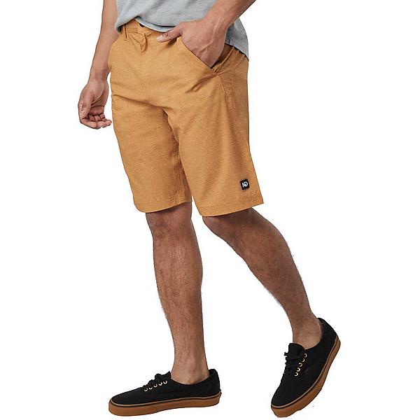 Tentree Destination Mens Hybrid Shorts 2019, Brown Sugar, 600