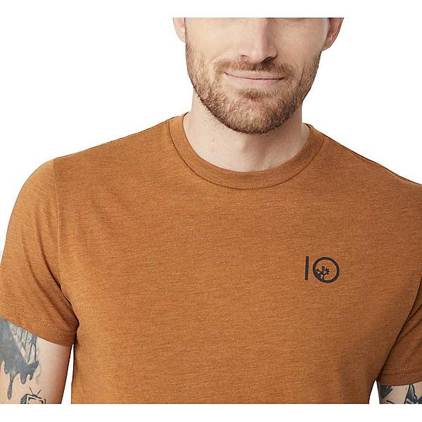 Tentree Jack Mens T-Shirt 2019, Brown Sugar, 600