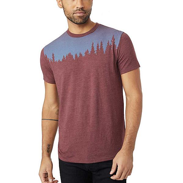 Tentree Juniper Mens T-Shirt, Red Mahogany, 600