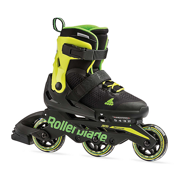 Rollerblade Microblade 3WD Adjustable Kids Inline Skates 2020, , 600