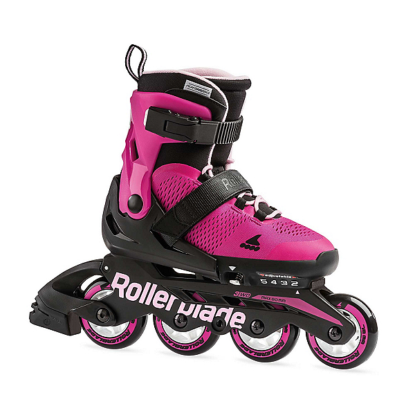 Rollerblade Microblade Adjustable Girls Inline Skates 2019, , 600