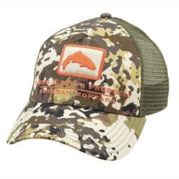 various colors d2113 626cb ... colorswatch30 Simms Trout Icon Trucker Hat, River Camo, 256