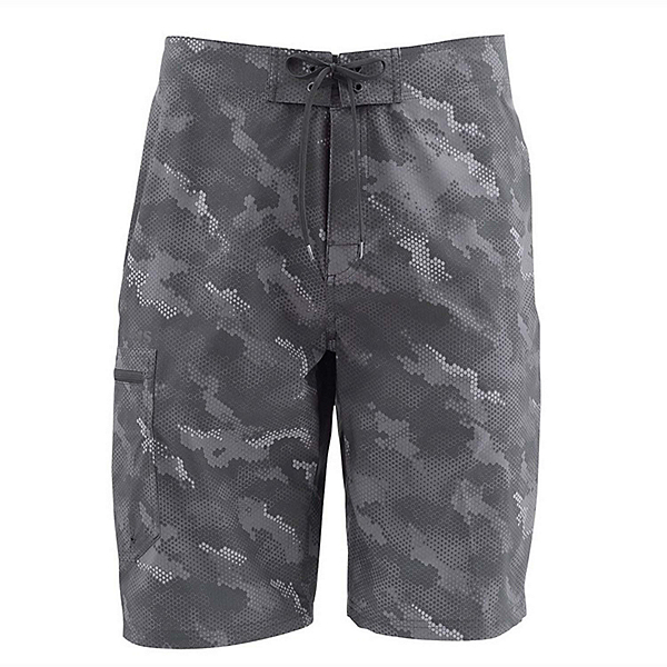 Simms Surf Print Mens Board Shorts 2019, , 600