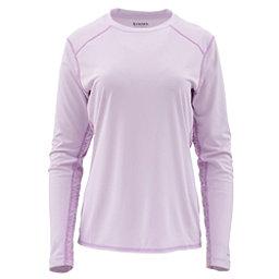 3aebc4c2a Simms Solarflex Long Sleeve Print Crew Womens Shirt, Pale Lavender, 256