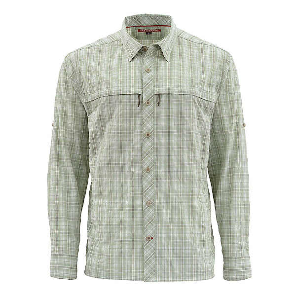 Simms Stone Cold Long Sleeve Mens Shirt, , 600