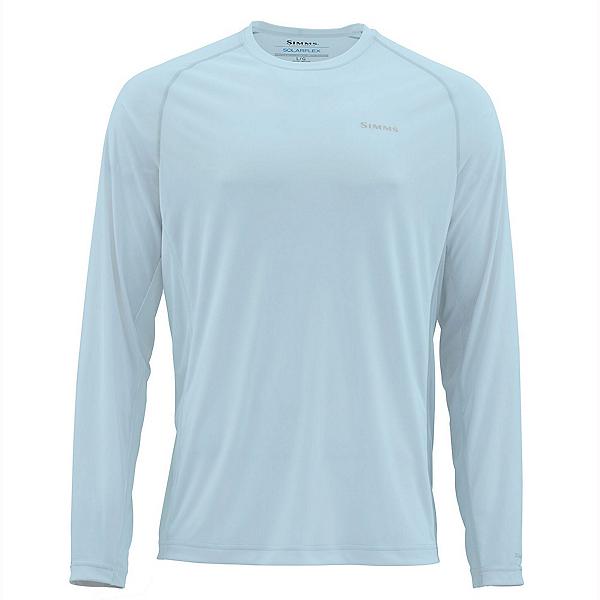 Simms Solarflex Long Sleeve Crew Mens Shirt, , 600