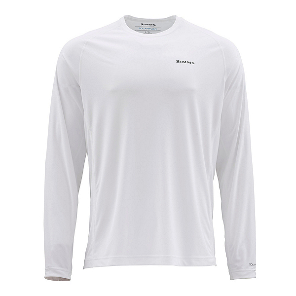 Simms Solarflex Long Sleeve Graphic Crew Mens Shirt, , 600