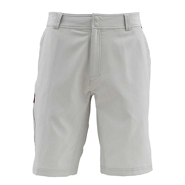 Simms Skiff Long Mens Hybrid Shorts 2019, Ash, 600