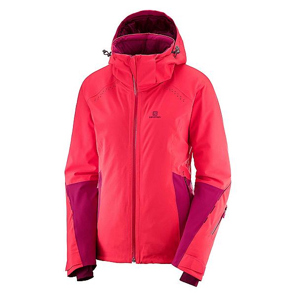 Salomon Icecrystal Womens Insulated Ski Jacket 2019, , 600