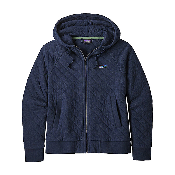 Patagonia Organic Cotton Quilt Womens Hoodie, New Navy, 600