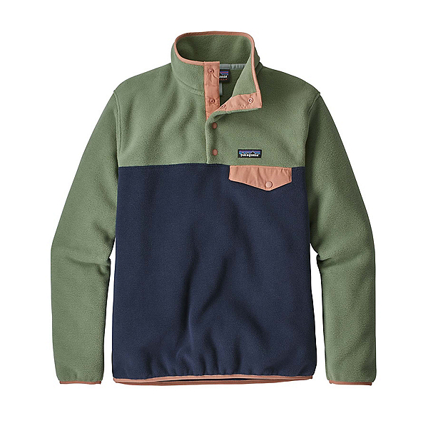 Patagonia Lightweight Synchilla Snap-T Pullover, New Navy, 600