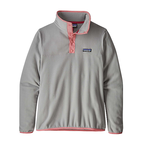 Patagonia Micro D Snap-T Pullover, Drifter Grey, 600