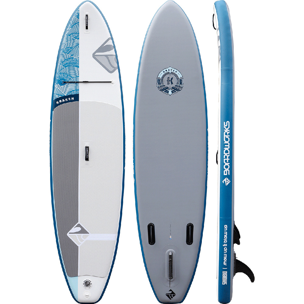 Boardworks Surf SHUBU Kraken 11'0 Inflatable Stand Up Paddleboard im test