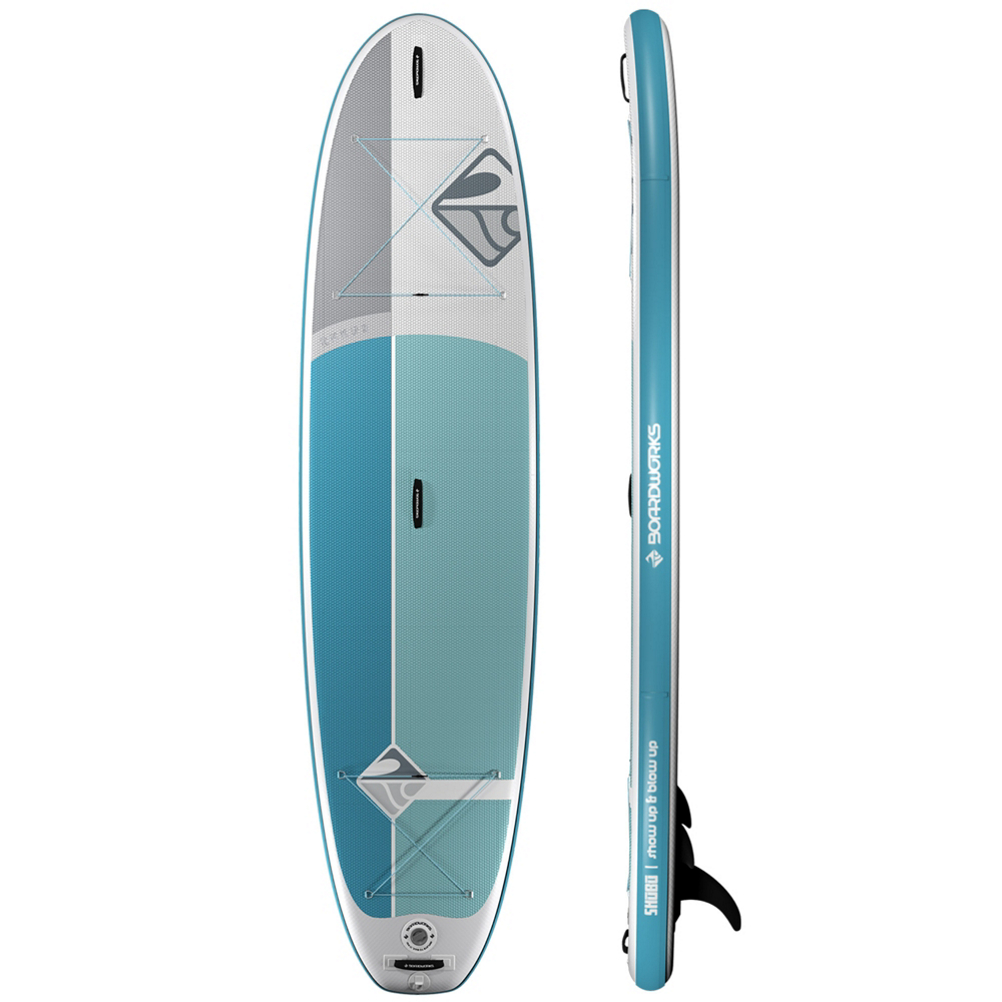 Boardworks Surf Shubu Rukus Inflatable Stand Up Paddleboard im test