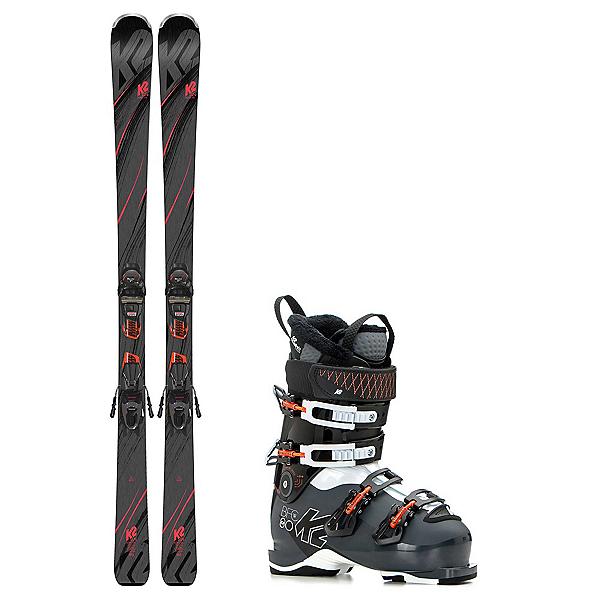 K2 Secret Luv B.F.C. 80 Womens Ski Package 2019, , 600