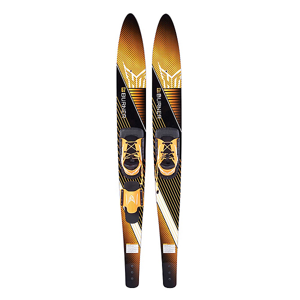 HO Sports Burner Combo Water Skis With Blaze Bindings 2019, , 600