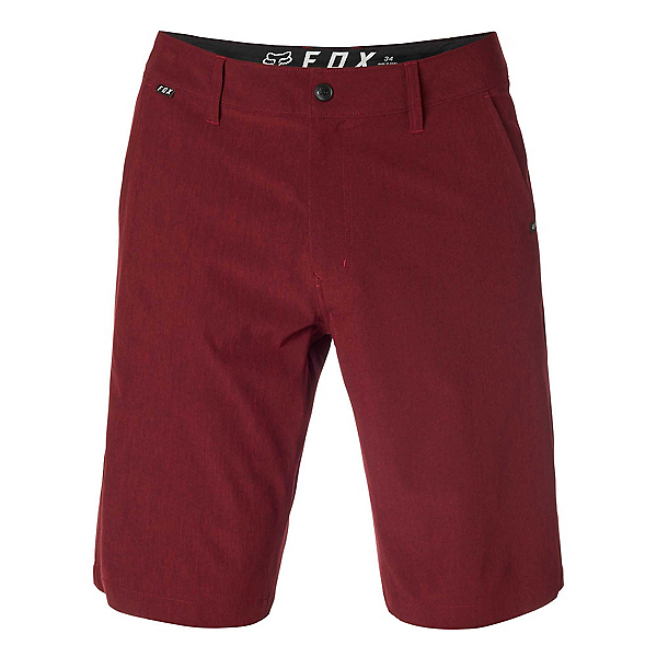 Fox Essex Tech Stretch Mens Hybrid Shorts (Previous Year) 2019, Heather Red, 600