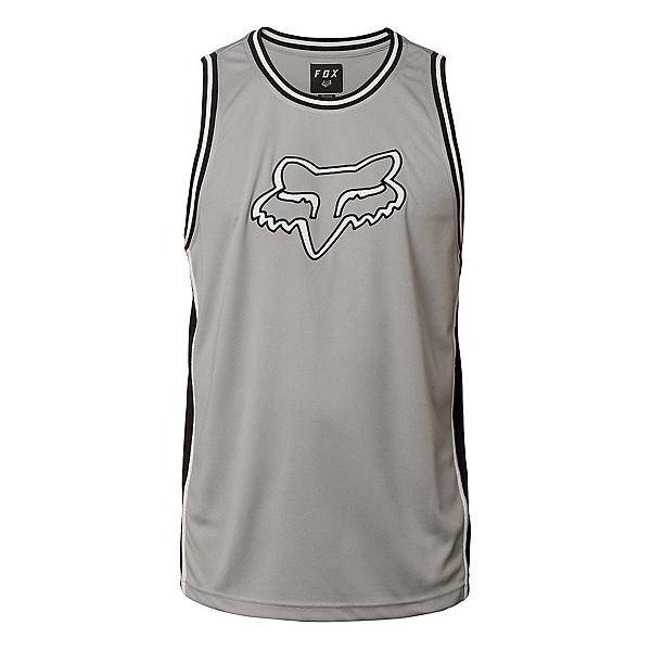 Fox Fox Head Bball Tank Top, Steel Grey, 600