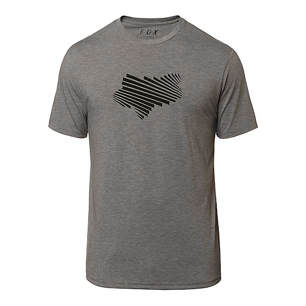 Fox Clash Tech Mens T-Shirt, Heather Graphite, 600