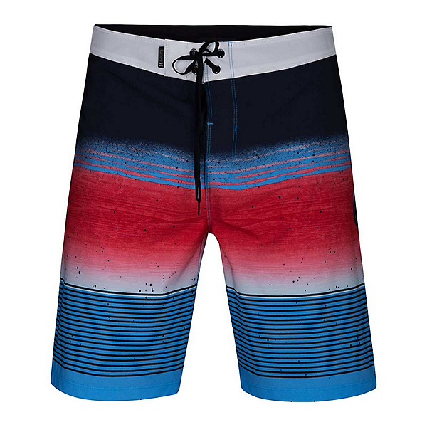 Hurley Phantom Overspray Mens Board Shorts, Obsidian, 600