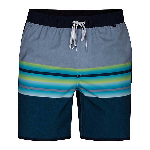 Hurley Phantom Zen Volley Mens Board Shorts, Blue Force, 600