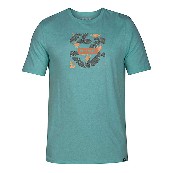 Hurley Premium Box Floral Mens T-Shirt, , 600