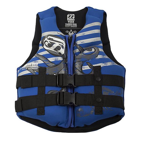 Jetpilot Young Guns Teen Life Vest, Blue, 600