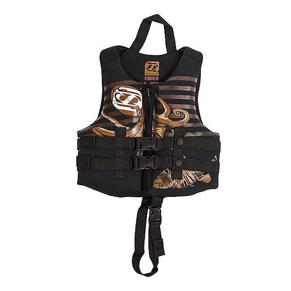 Jetpilot S1 Neoprene Toddler Life Vest, Black, 600