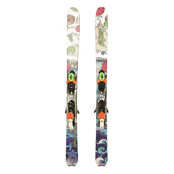 Used Womens Atomic Century Powder Skis with Bindings A Condition SALE, , 600