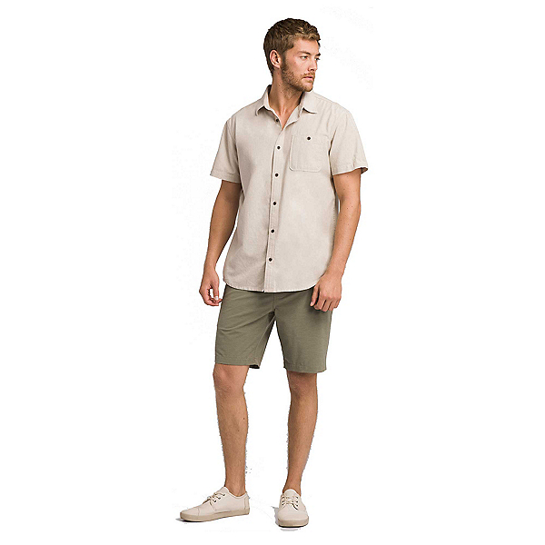 Prana Jaffra Short Sleeve Mens Shirt, , 600
