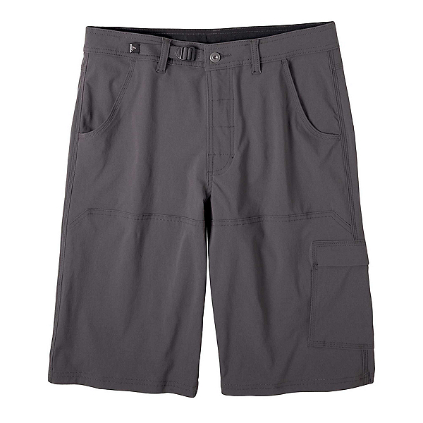 Prana Stretch Zion Mens Shorts, Charcoal, 600