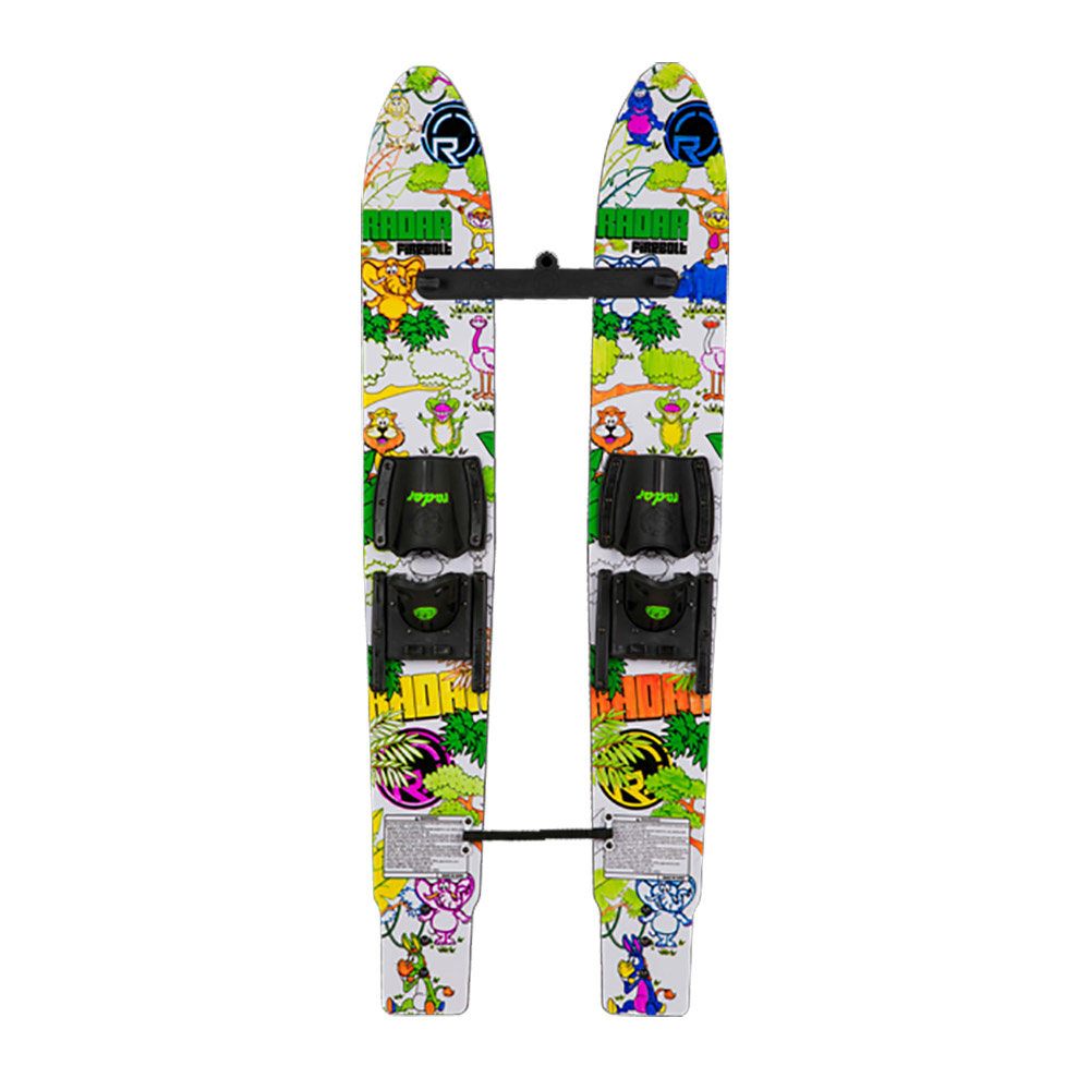 Radar Skis Firebolt Trainers Junior Combo Water Skis With Adjustable Horseshoe Bindings 2020 im test
