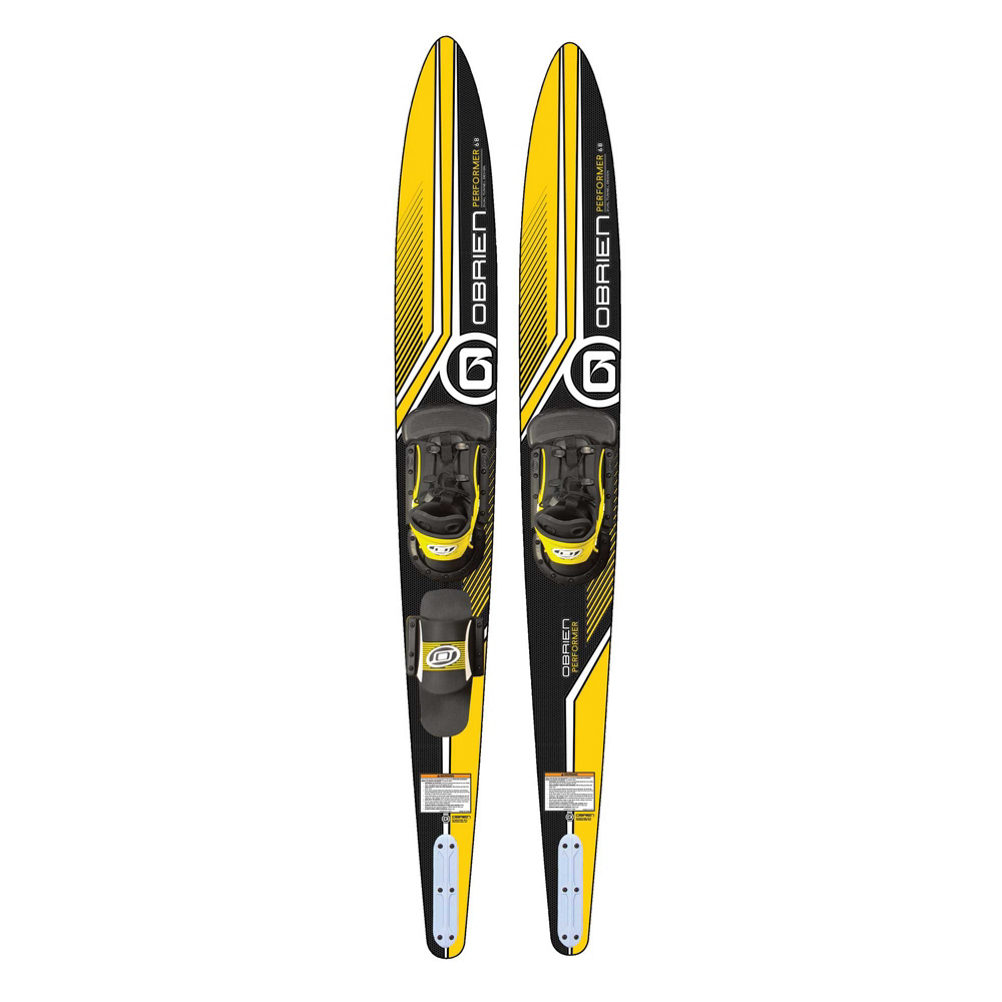O'Brien Performer Combo Water Skis With X-8 Bindings 2020 im test