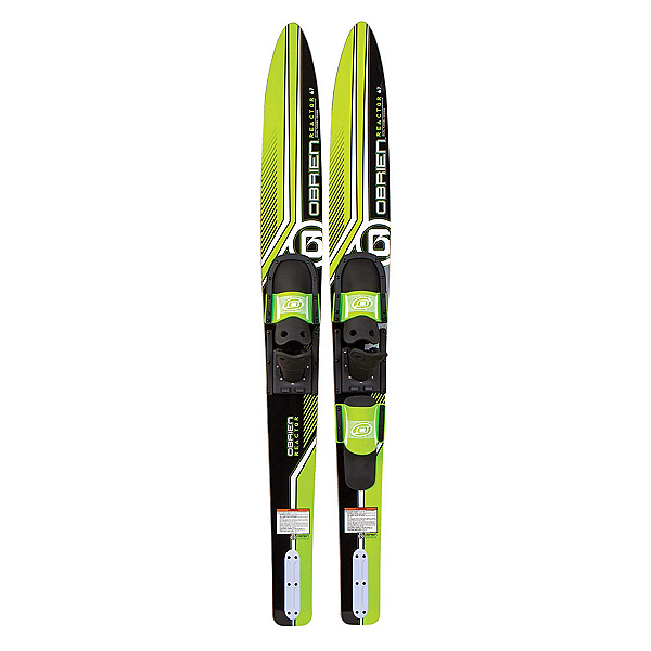 O'Brien Reactor Combo Water Skis With 700 Adjustable Bindings 2020, , 600