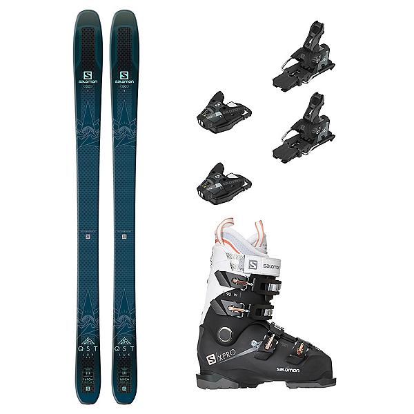 Salomon QST Lux 92 X-Pro 90 Womens Ski Package 2019, , 600