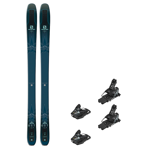 Salomon QST Lux 92 STH2 WTR 13 Womens Ski Package 2019, , 600