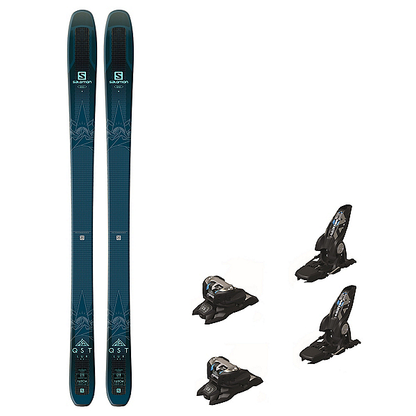 Salomon QST Lux 92 Griffon 13 ID Womens Ski Package 2019, , 600