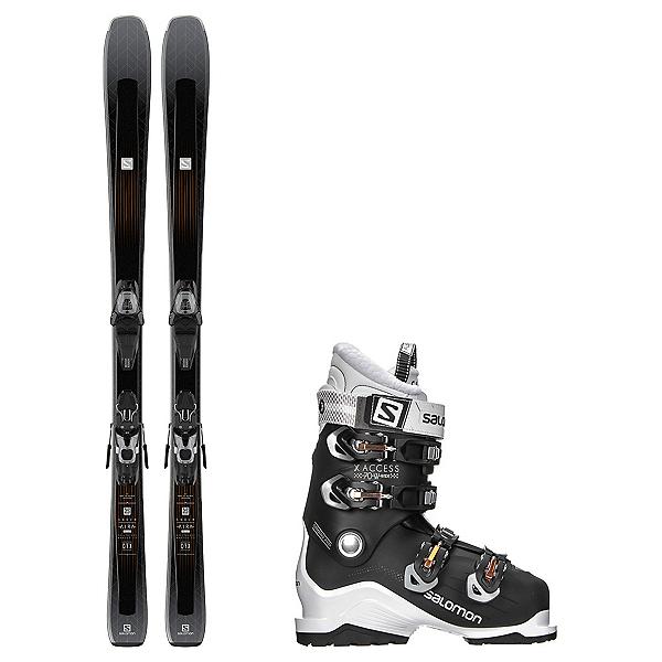 Salomon Aira 76 CF X-Access 70 Wide Womens Ski Package, , 600