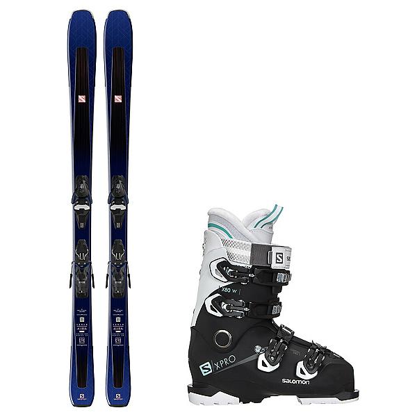 Salomon Aira 80 Ti X-Pro X80 CS Womens Ski Package 2019, , 600